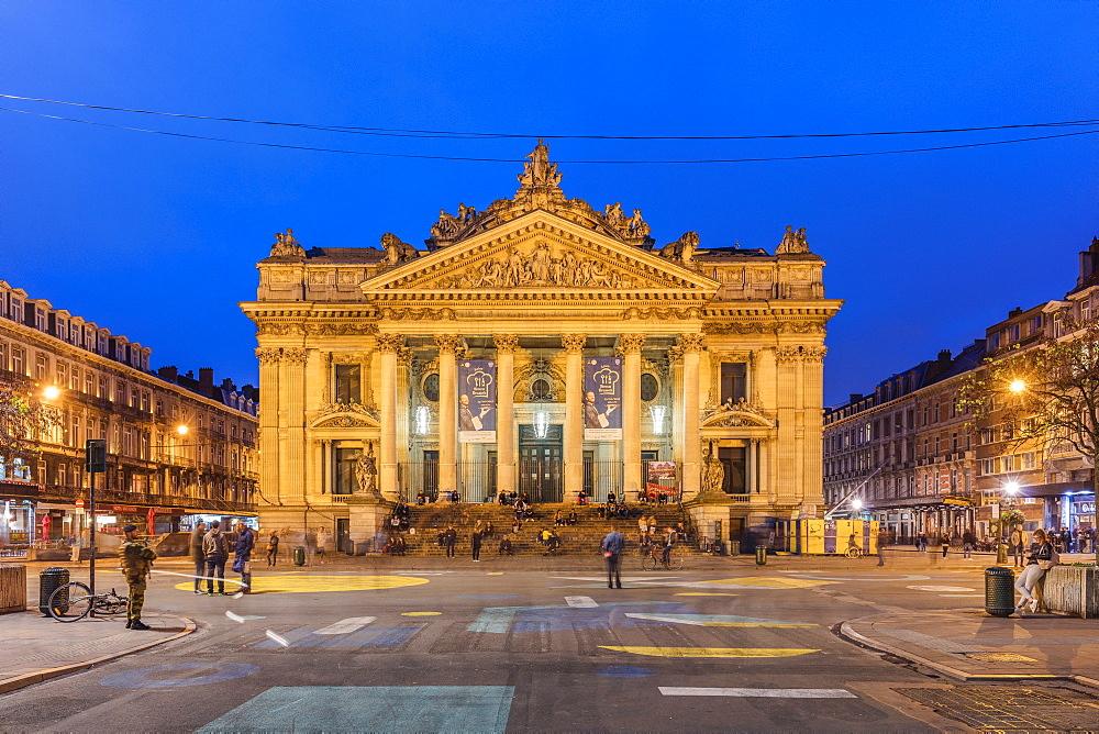 Bourse de Bruxelles, Brussels, Belgium, Europe