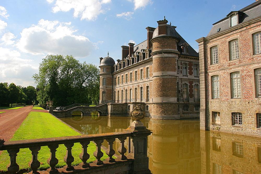 Beloeil Castle, Wallonia, Belgium, Europe