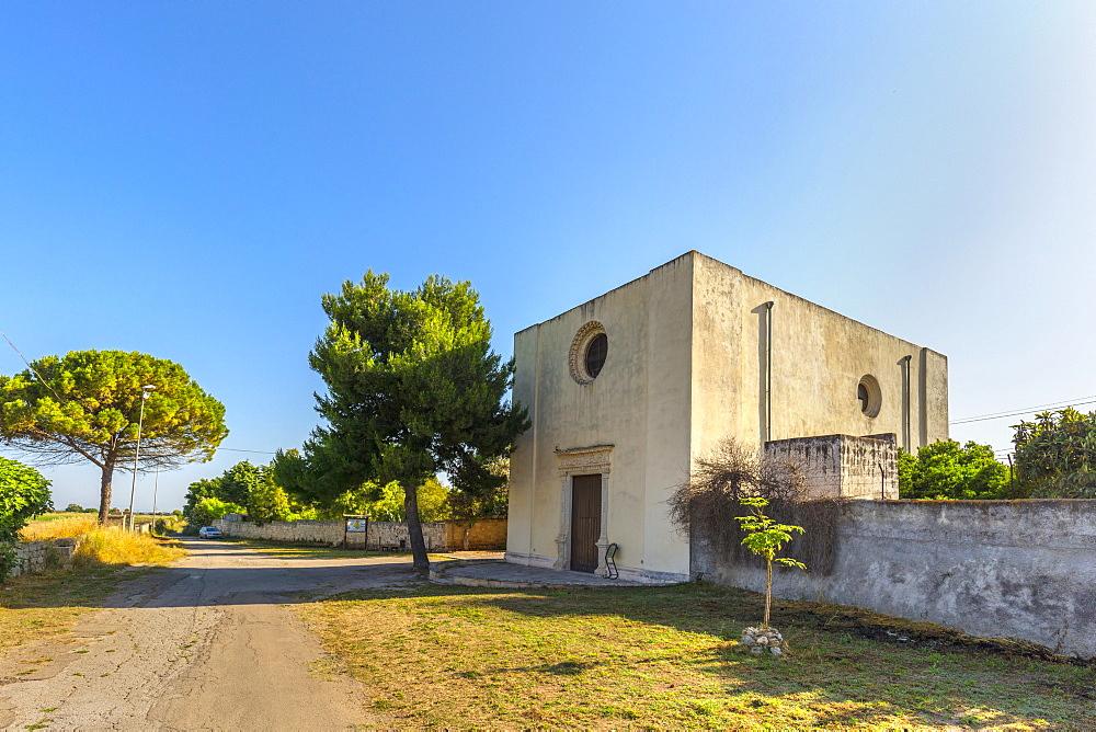 Santuary of the Madonna della Luce, Ugento, Puglia, Italy, Europe