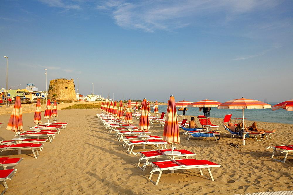Torre Mozza beach, Ugento, Puglia, Italy, Europe