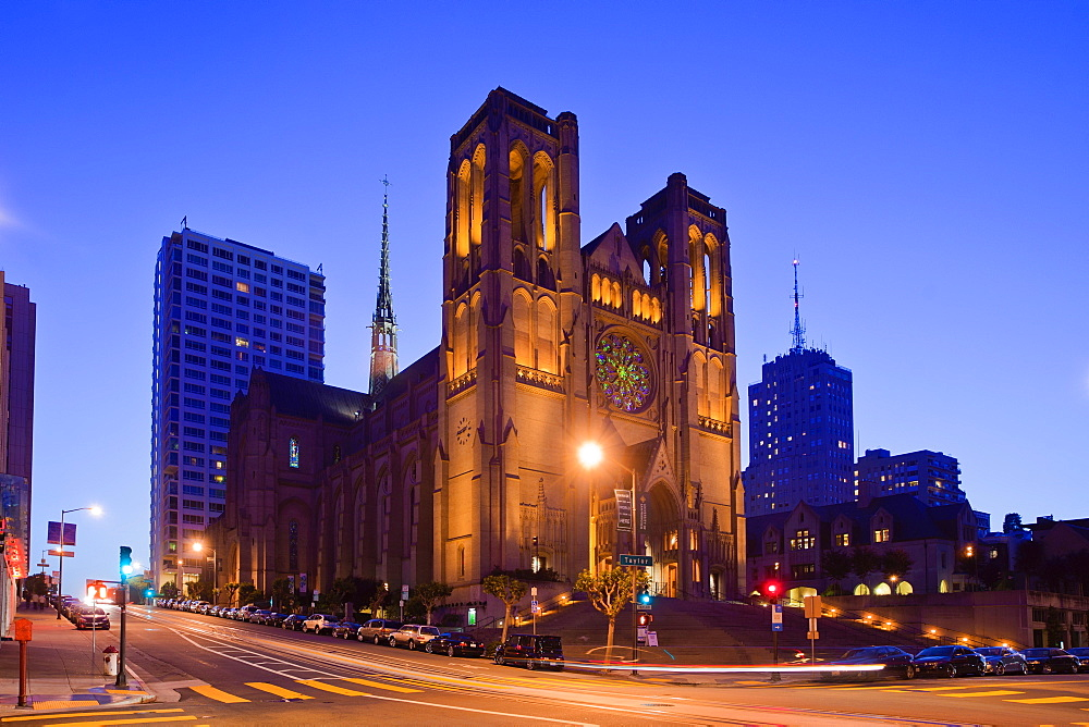 Grace Cathedral, San Francisco, California, United States of America, North America