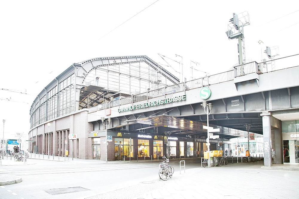Berlin Friedrichstrasse station, Berlin, Germany, Europe