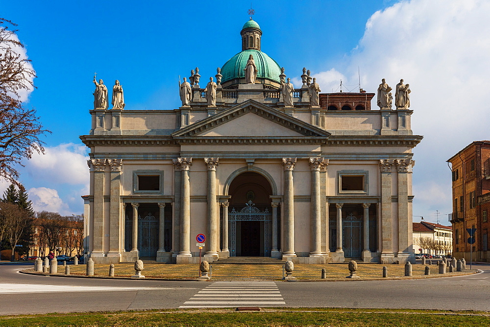 Cathedral of Sant'Eusebio, Vercelli, Piedmont, Italy, Europe
