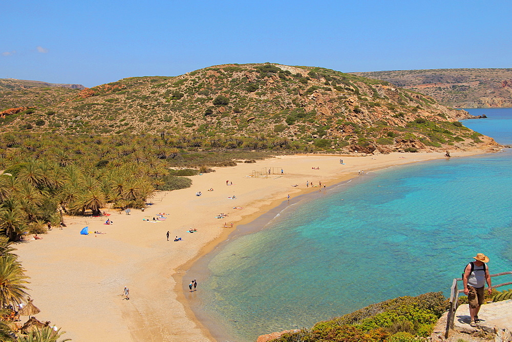 Vai Beach, Crete Island, Greek Islands, Greece, Europe