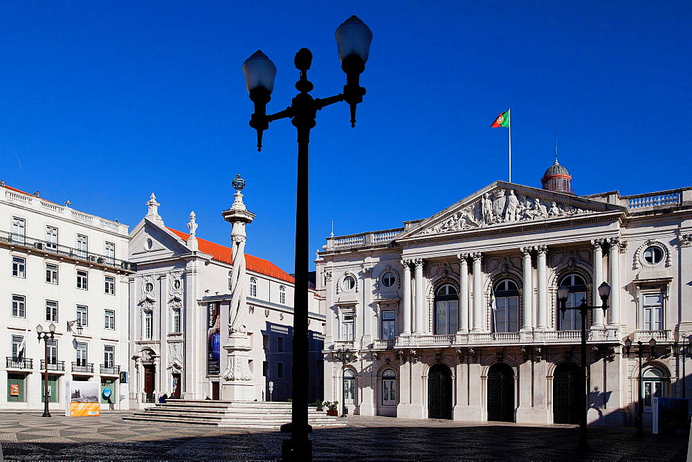 Praca do Municipio, Lisbon, Portugal, Europe