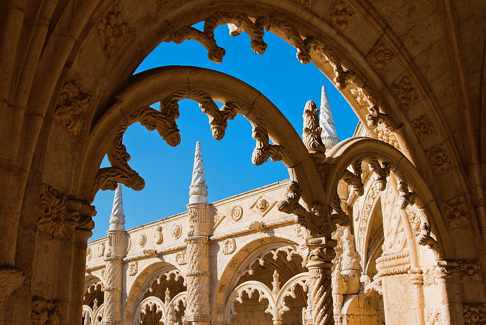 Jeronimos Monastery, UNESCO World Heritage Site, Belem, Lisbon, Portugal, Europe