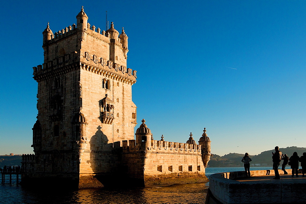 Belem Tower, UNESCO World Heritage Site, Belem, Lisbon, Portugal, Europe