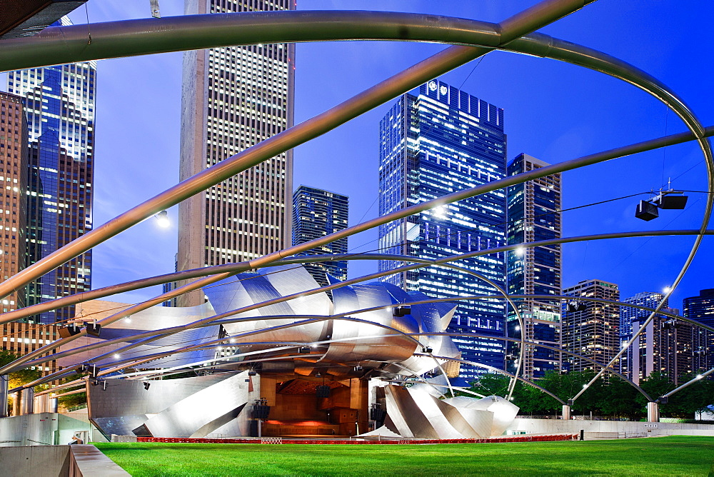 Millennium Park, Chicago, Illinois, United States of America, North America