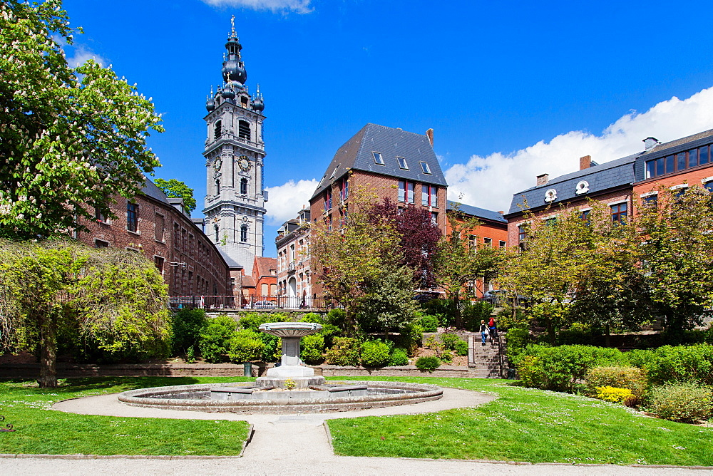 Beffroi (Belfry), Mons, Wallonia, Belgium, Europe