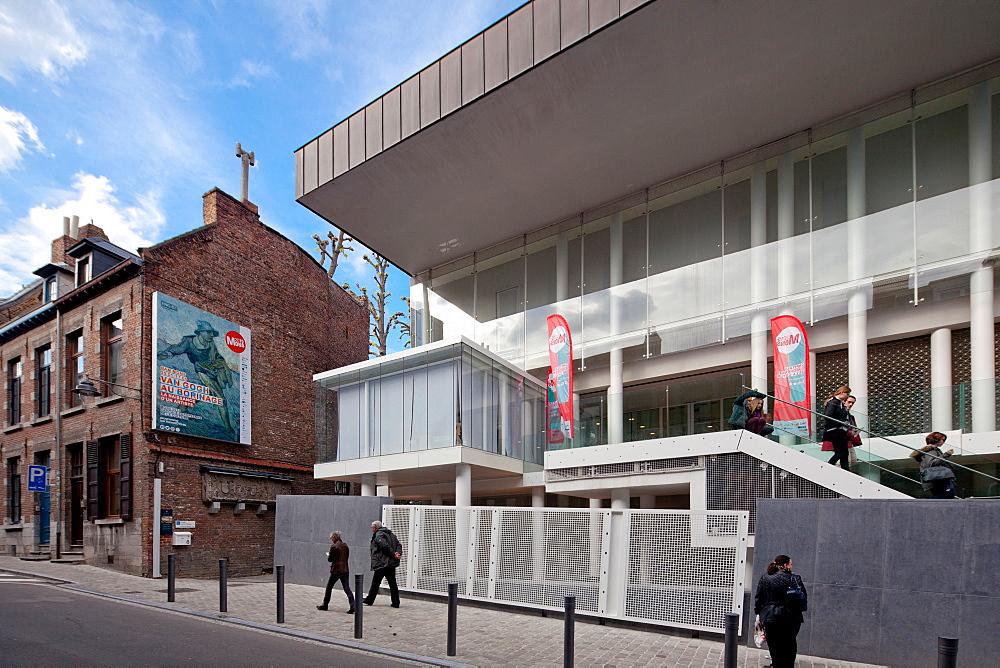 BAM Museum, Mons, Wallonia, Belgium, Europe