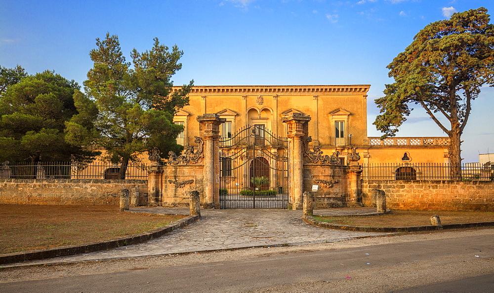 Villa Vescovile, Nardo, Puglia, Italy, Europe