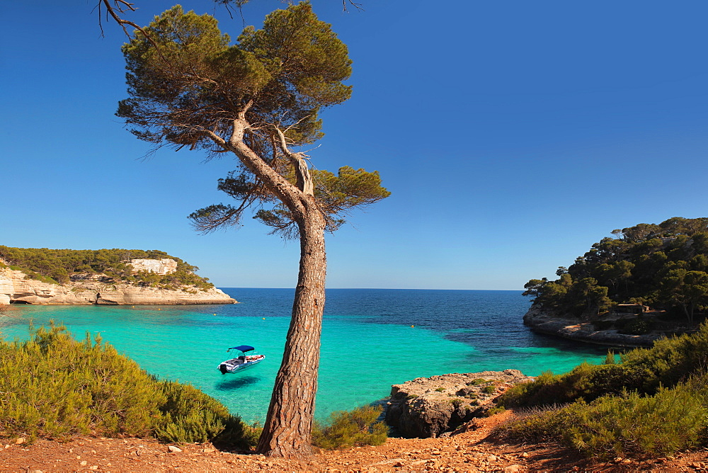 Mitjana beach, Minorca, Balearic Islands, Spain, Mediterranean, Europe - 1292-1467