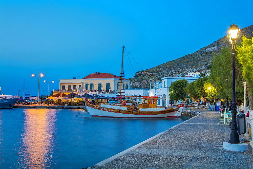 Aghia Marina, Leros Island, Dodecanese, Greek Islands, Greece, Europe