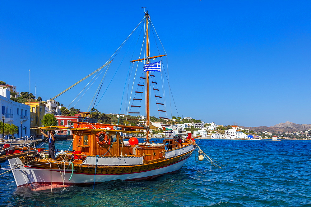Aghia Marina, Leros Island, Dodecanese, Greek Islands, Greece, Europe