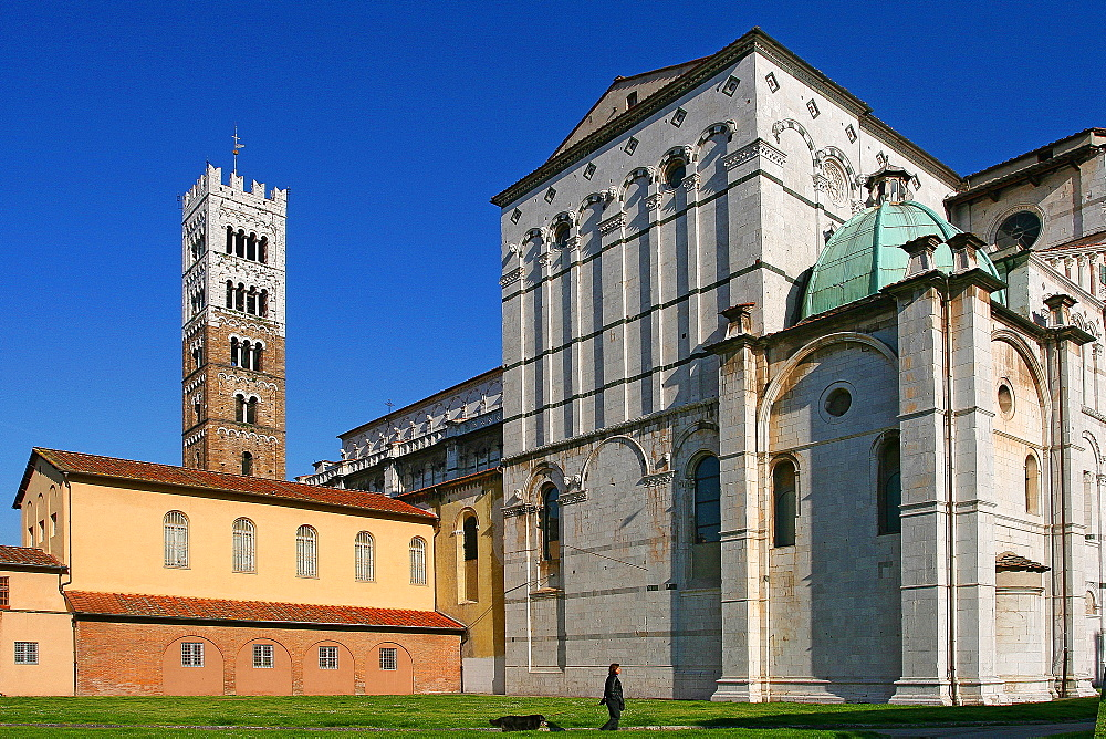 The Cathedral of San Martino, Lucca, Tuscany, Italy, Europe - 1292-1517