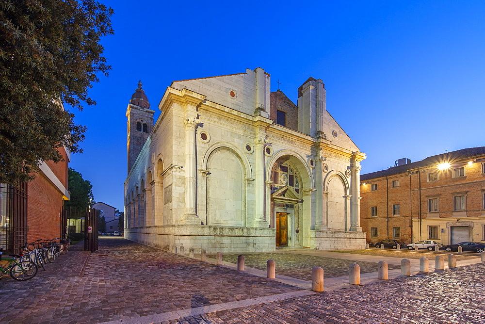 The Malatesta temple, Rimini, Emilia Romagna, Italy, Europe