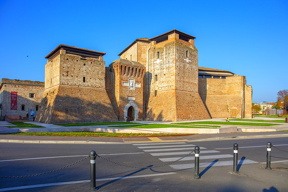 Malatesta Fortress, Rimini, Emilia Romagna, Italy, Europe