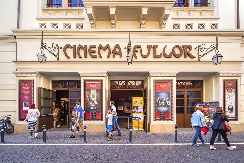 The Fulgor Cinema, Rimini, Emilia Romagna, Italy, Europe