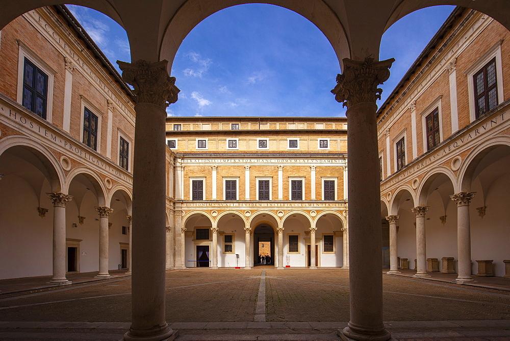Galleria Nazionale delle Marche, Palazzo Ducale, Urbino, Marche, Italy, Europe