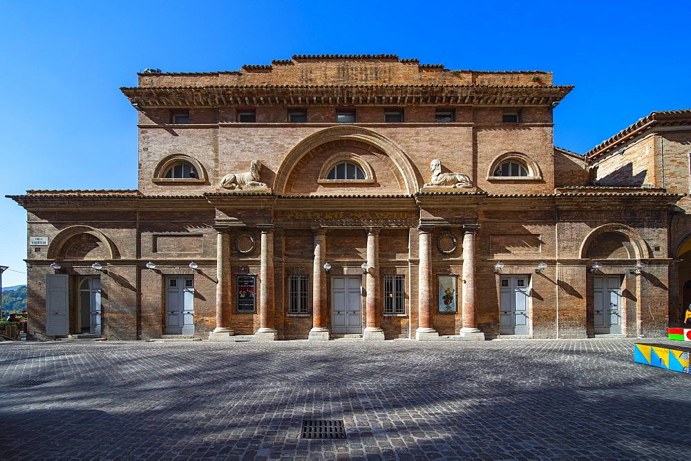 Sanzio Theater, Urbino, Marche, Italy, Europe