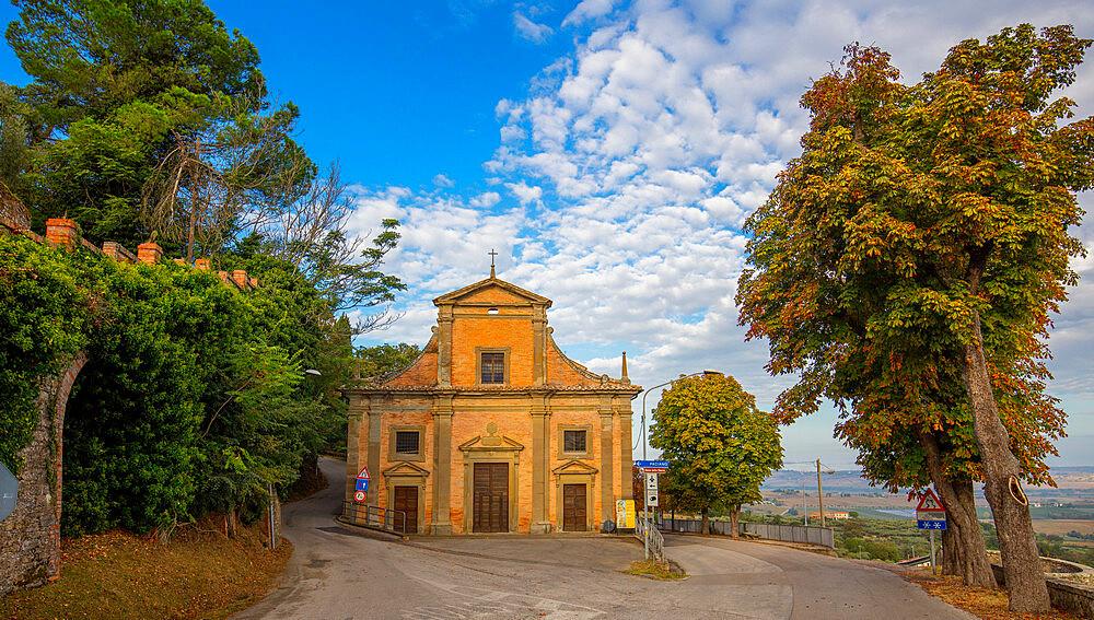 Church of the Madonna della Sbarra, Panicale, Umbria, Italy, Europe