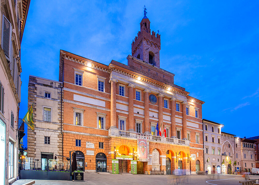 City Hall of Foligno, Perugia, Umbria, Italy