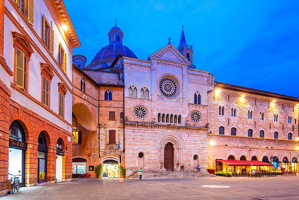 Cathedral of San Feliciano, Piazza della Repubblica, Foligno, Perugia, Umbria, Italy