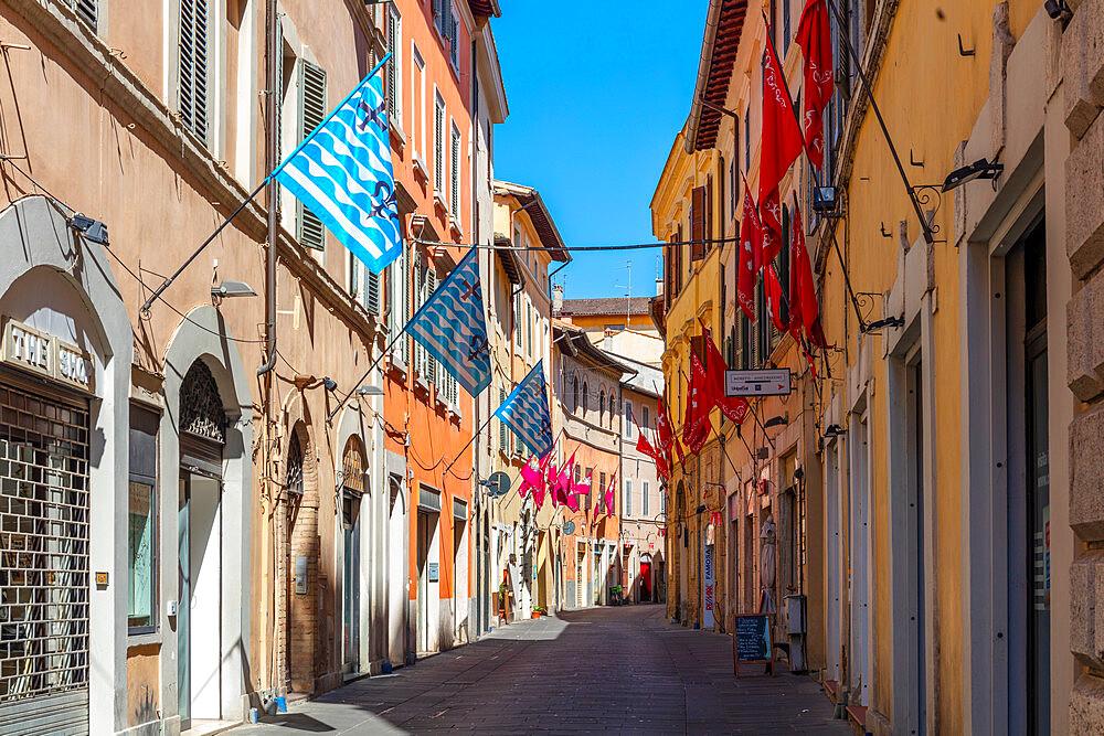 Via GAribaldi, Foligno, Perugia, Umbria, Italy