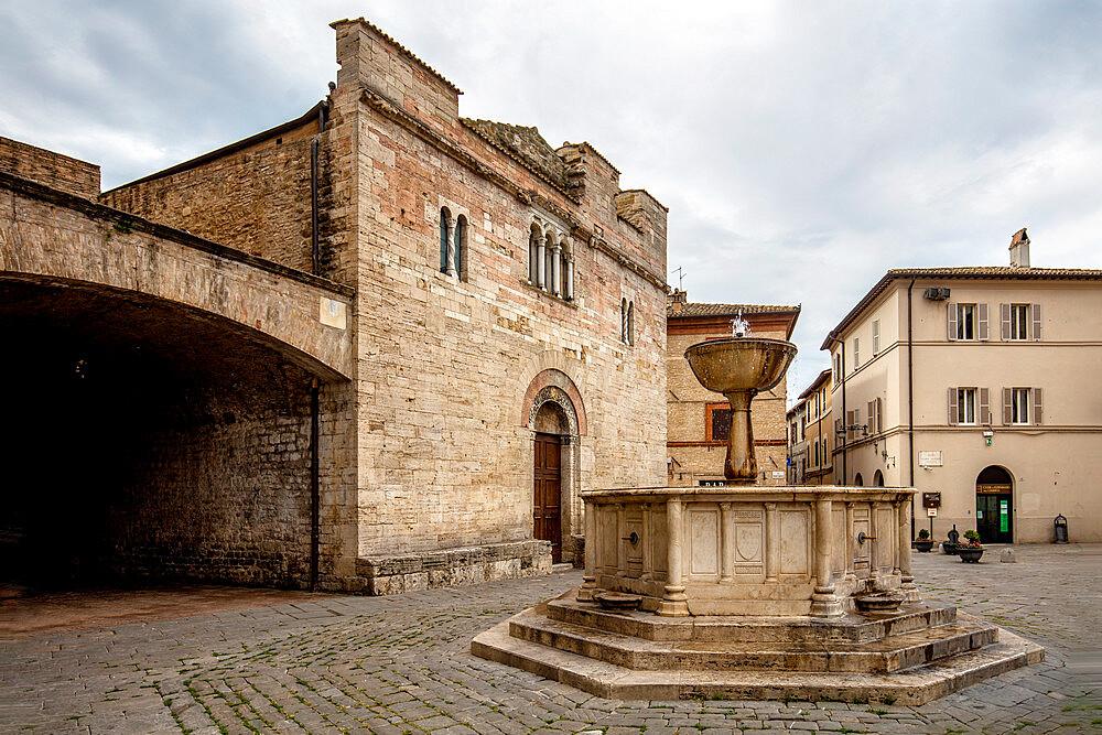 Church of San Silvestro, Bevagna, Perugia, Umbria, Italy