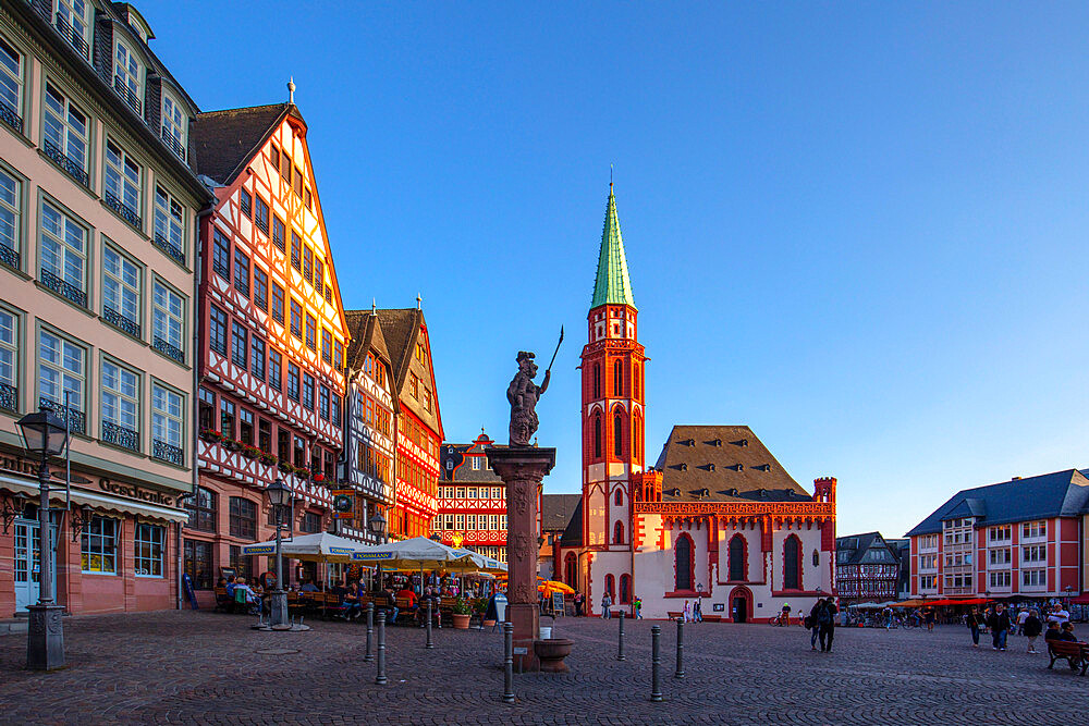 The Romerberg, Frankfurt am Main, Hesse, Germany, Europe - 1292-1652
