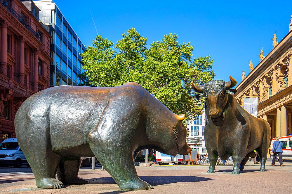 The old stock exchange, Frankfurt am Main, Hesse, Germany, Europe - 1292-1654