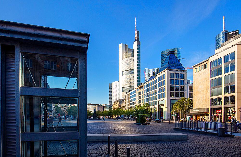 Goetheplatz, Frankfurt am Main, Hesse, Germany, Europe - 1292-1656