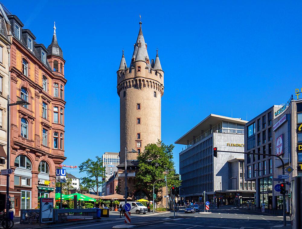 The Escheinheimer Tor, Frankfurt am Main, Hesse, Germany, Europe - 1292-1667