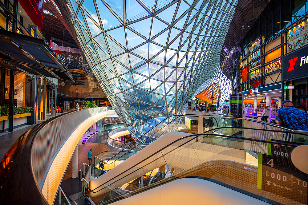 My Zeil shopping center, Frankfurt am Main, Urban district, Hesse, Darmstadt, Germany