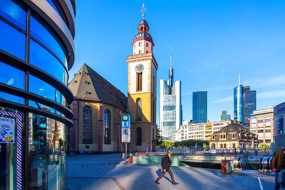 Hauptwache, Frankfurt am Main, Hesse, Germany, Europe - 1292-1674