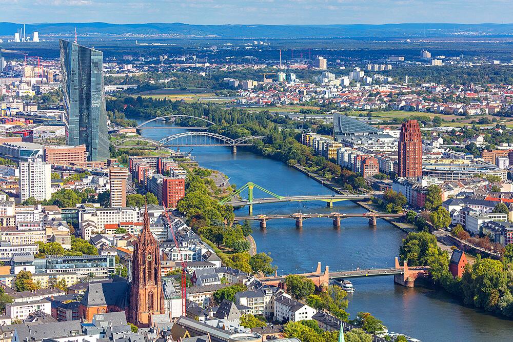 Main Tower, Frankfurt am Main, Hesse, Germany, Europe - 1292-1677