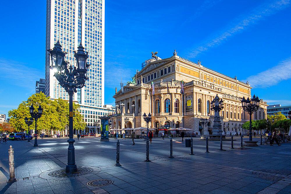 Opern Platz, Frankfurt am Main, Hesse, Germany, Europe - 1292-1679