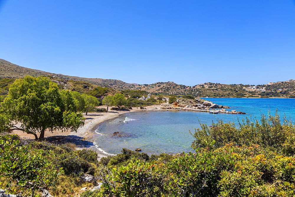 Blefoutis beach, Leros Island, Dodecanese, Greek Islands, Greece, Europe