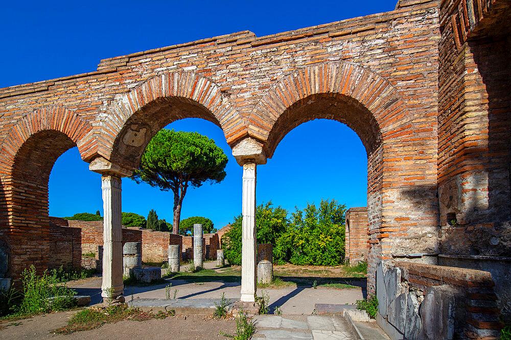 Domus della Fortuna Annanoria, Ostia Antica, Rome, Lazio, Italy, Europe - 1292-1690