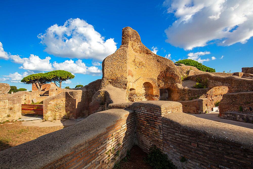 Forica delle Terme del Foro, Ostia Antica, Rome, Lazio, Italy, Europe - 1292-1691
