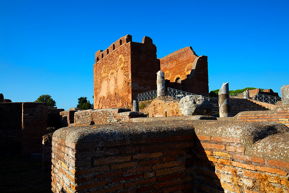 Capitolium, Ostia Antica, Rome, Lazio, Italy, Europe - 1292-1694