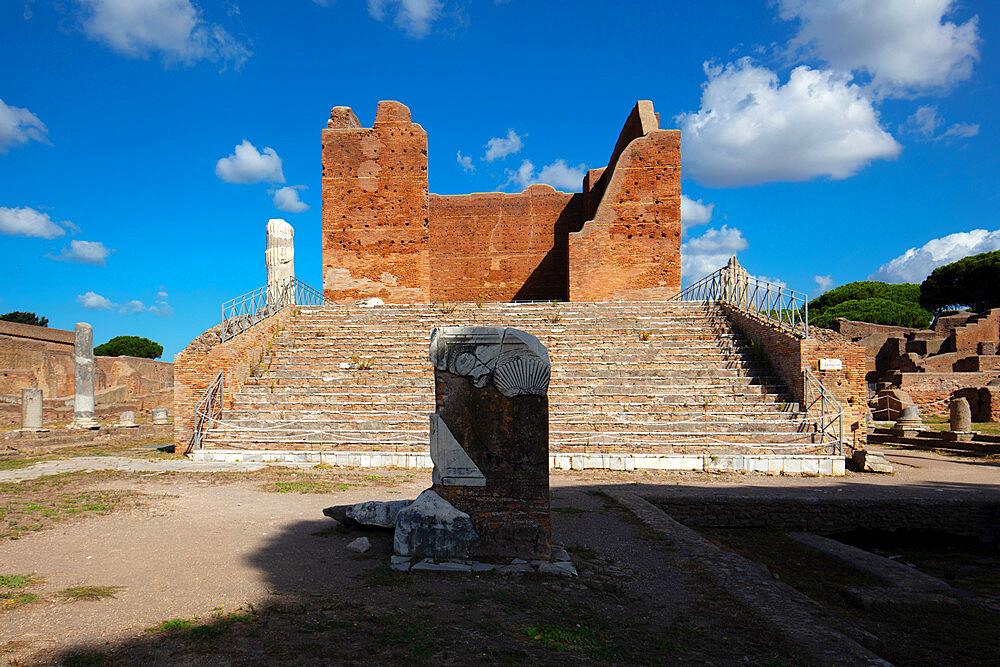 Capitolium, Ostia Antica, Rome, Lazio, Italy, Europe - 1292-1695
