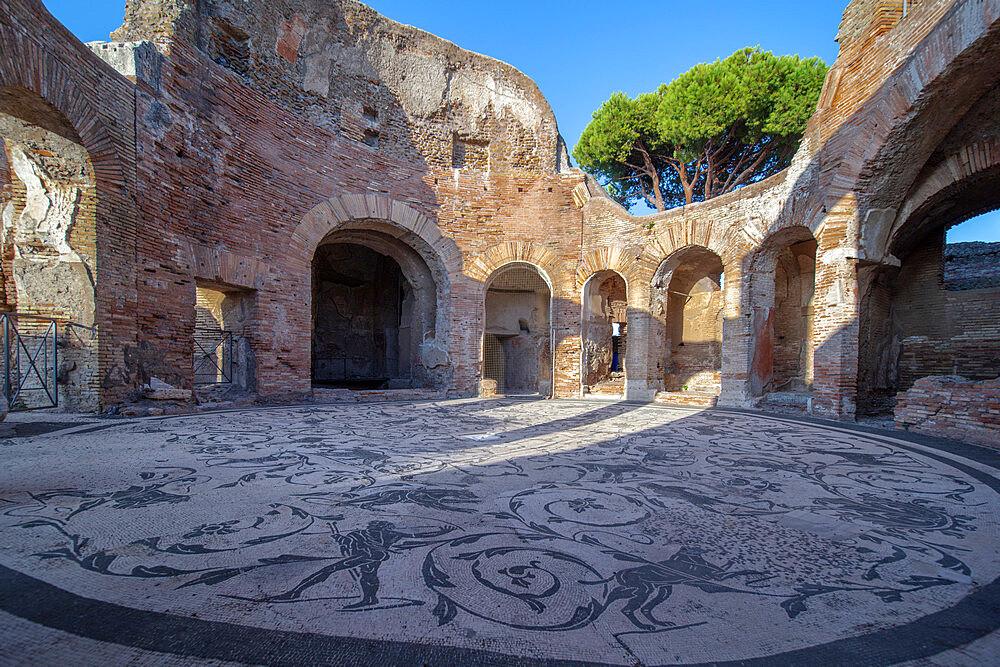 Terme dei Sette Sapienti, Ostia Antica, Rome, Lazio, Italy, Europe - 1292-1696