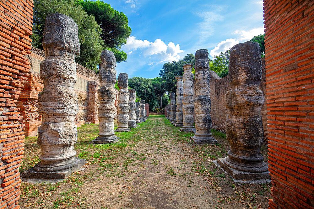 Porto di Traiano, Fiumicino, Rome, Lazio, Italy, Europe - 1292-1703