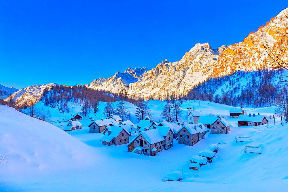 Alpe Crampiolo, Val d'Ossola, Verbano Cusio Ossola, Piemonte, Italy, Europe - 1292-1709
