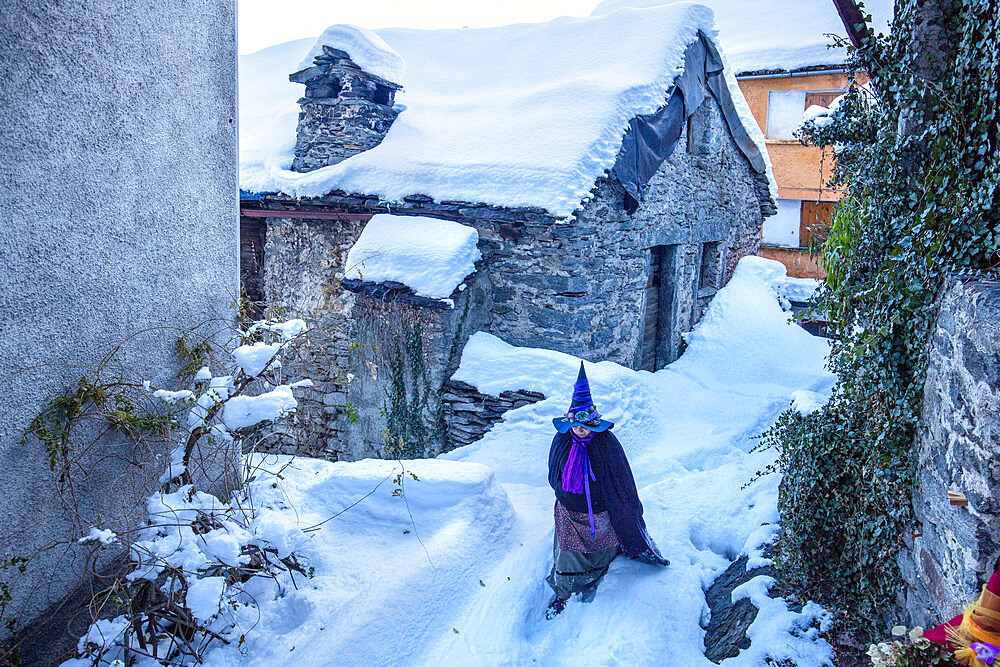 Croveo, the land of witches, Val d'Ossola, Verbano Cusio Ossola, Piemonte, Italy, Europe