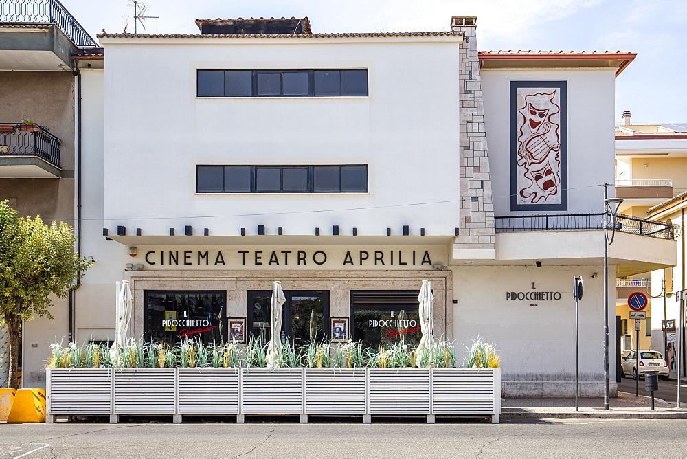 Cinema Tetaro Aprilia, Aprilia, Latina, Lazio, Italy, Europe