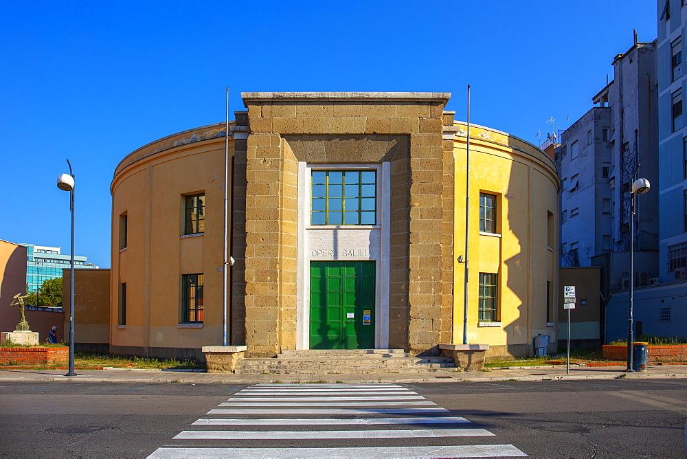 Opera Nazionale Balilla building, Latina (Littoria), Latina, Lazio, Italy, Europe - 1292-1743