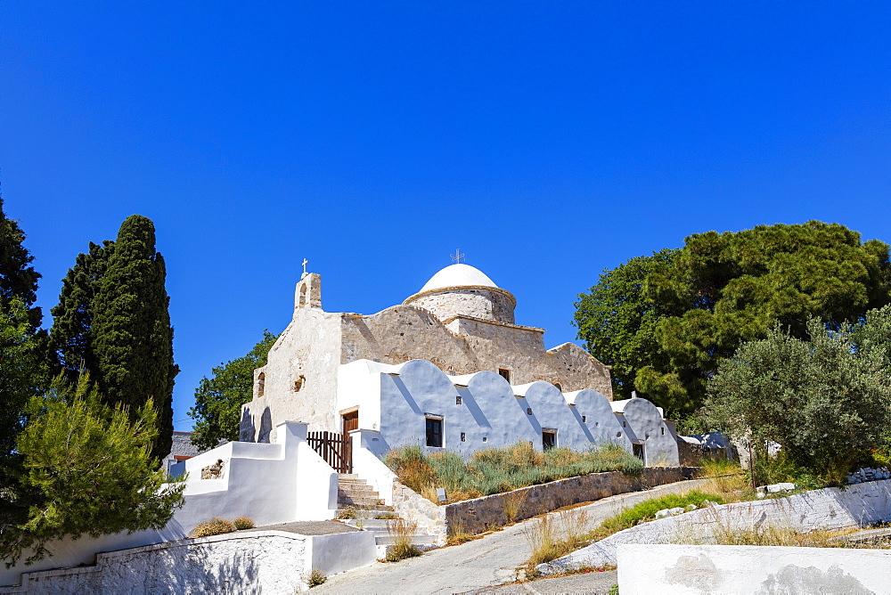 Aghio Ioanni Theologos in Lakki, Leros Island, Dodecanese, Greek Islands, Greece, Europe