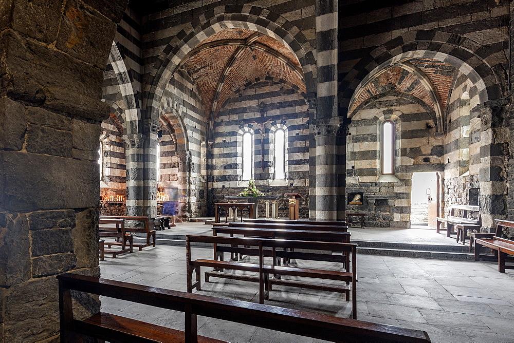 Church of S. Pietro, Portovenere, Liguria, Italy, Europe
